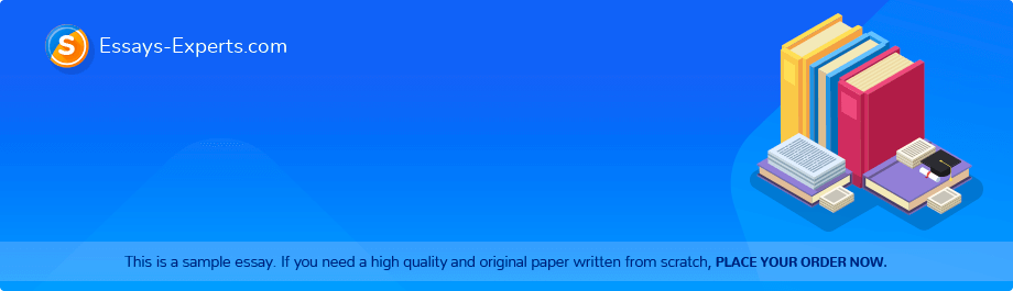 Free Essay Sample «Annotated Bibliography»