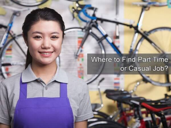 Where to Find Part Time or Casual Job