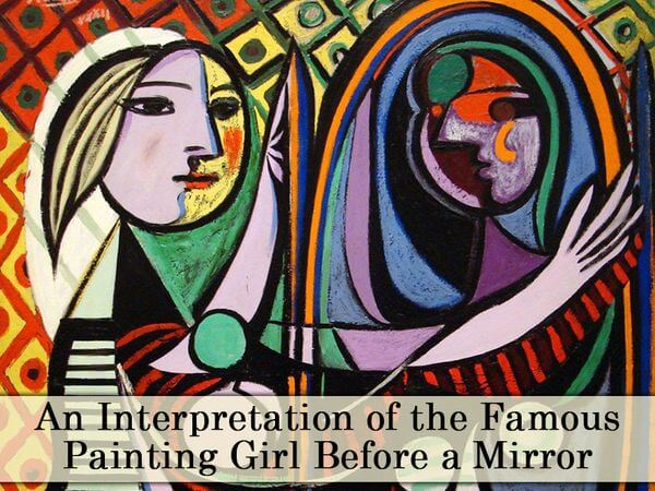 An Interpretation of the Famous Painting Girl Before a Mirror